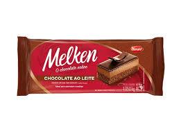 Chocolate Barra Leite Melken 1,050Kg Harald