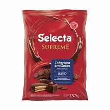 Cobertura de Chocolate Supreme em Gotas Blend 1,01Kg - Selecta