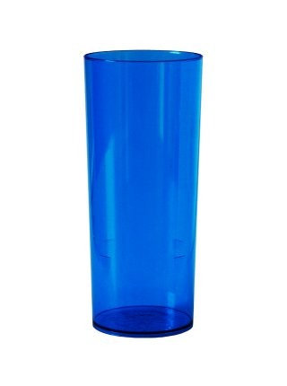 Copo Long 340ml Azul Plazapel com 06 un