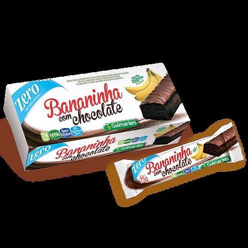 Bananinha c/Chocolate Zero 25g Guimarães