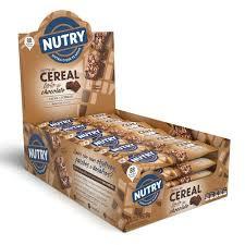 Barra de Cereal Nutry Bolo de Chocolate - Dp c/ 24 un de 22g Nutrimental