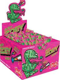 Chicle Zoey Tutti Frutti Acido + 40unx4g Docile
