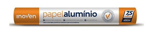 Papel Alumínio 30x 7,5m - Inoven