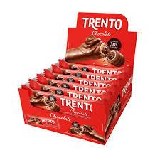 Trento Chocolate Ao Leite 512g Display com 16 embalagens Peccin