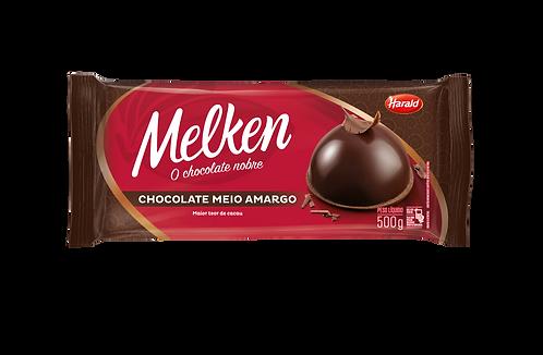 Chocolate Meio Amargo Melken Harald 500g