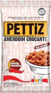 Amendoim Pettiz Pimenta Vermelha Crocante Dori 500g