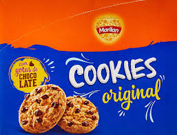 Biscoito Cookies Original 8x40g Marilan