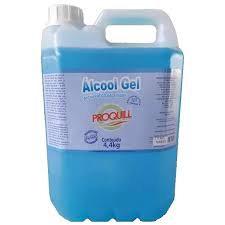 Alcool Gel Antisspético Proquill c/ 4,4kg - 5Lt