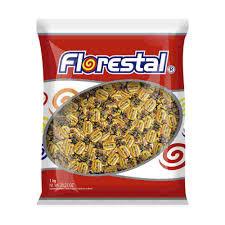 Bala de Amendoim Crocante 500g Florestal