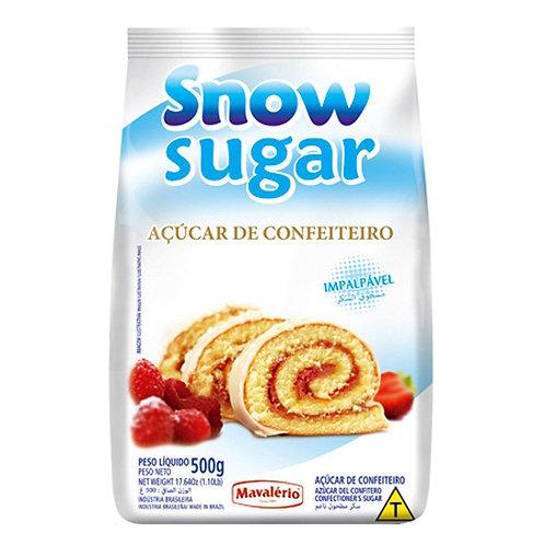 Açúcar de Confeiteiro Snow Sugar 500g - Mavalério