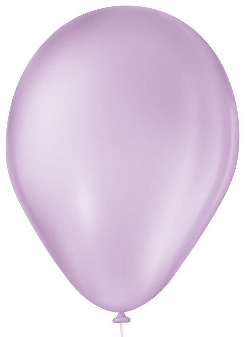 Balão N°7 Lilás Baby - Pacote com 50un- Balões São Roque