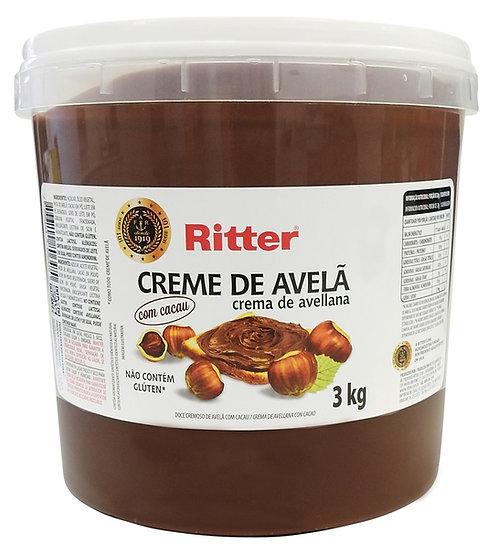 Creme de Avelã com Cacau 3kg Ritter