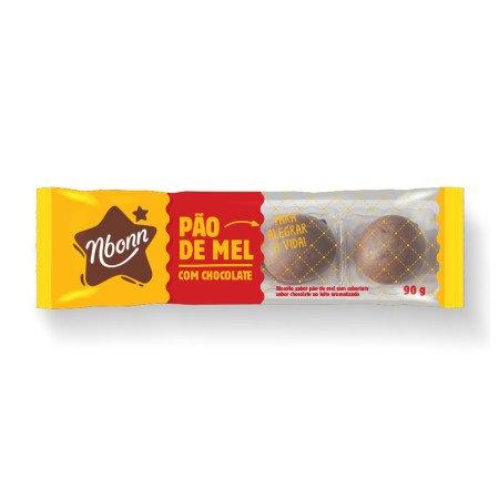 Pão de Mel c/Chocolate 90g Nboon