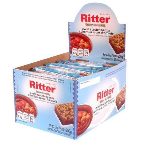 Cereal Ritter Avelã com Chocolate com 24 un