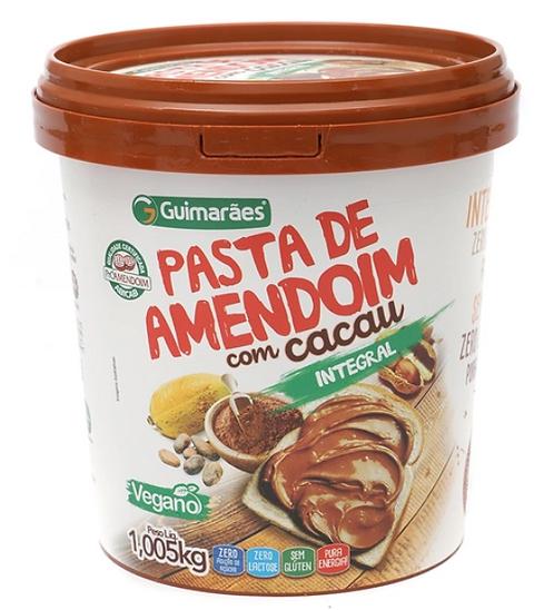Pasta De Amendoim com Cacau 1005Kg - GUIMARÃES