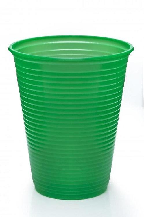 Copo Dudigo Verde 200mls com 50 unidades.