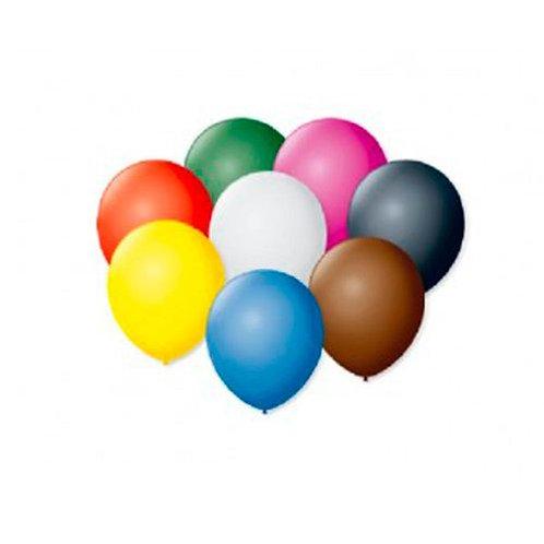 Globitos De Água  N°3 Colorido - Pacote com 100un- Balões São Roque