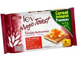 Torrada Lev Magic Toast Cereais 150g Marilan