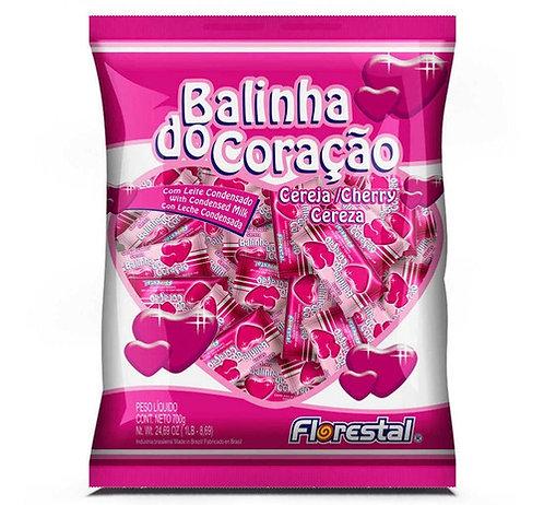 Balinha do Coração sabor Cereja 500g Florestal