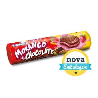 Biscoito Recheado Morango e Chocolate  115g Prodasa