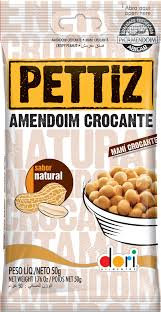 Amendoim Pettiz Natural Crocante 50g Dori