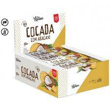 Cocada + Abacaxi Zero Açúcar Display com 12 unidades Amore