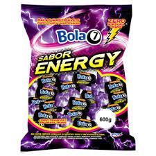 Bala Mastigável Bola 7 Energy 600g Riclan