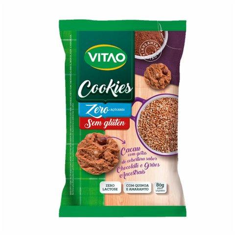 Cookies de Grãos e Cacau 80g Vitao