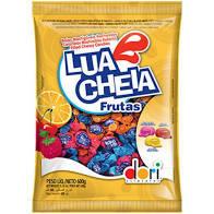 Bala Lua Cheia Dori Frutas 600g