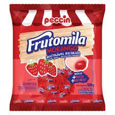 Bala Frutomila Morango 500g Peccin