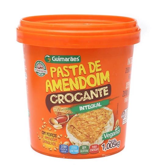 Pasta De Amendoim Crocante 1005Kg - GUIMARÃES