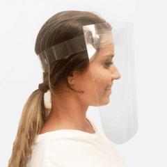 Leve 10 Máscaras Face Shield- Regulável, pague R$10,00 a unid