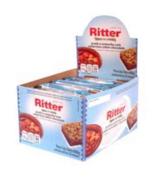 Cereal em Barra Sabor Avelã com Chocolate C/ 24 un - Ritter