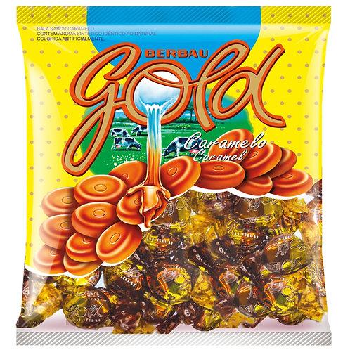 Bala Gold Caramlo 600g Berbau