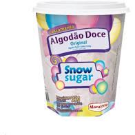 Algodão Doce Original Snow Sugar  35G Mavalério