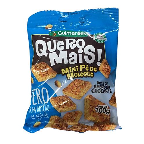 Quero Mais Pé de Moleque Zero Açúcar 100g Guimarães