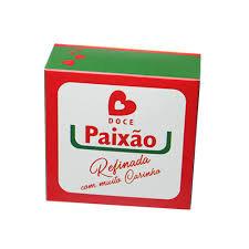 Caixa Divertida p/6 Brigadeiros Doce Paixão  12x8x3,5 Pacote c/10 un. Carber