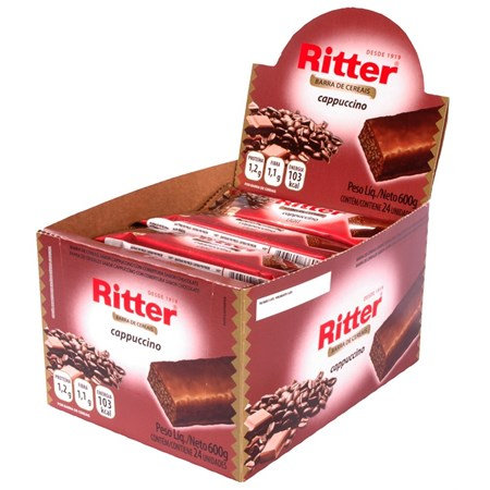 Cereal Ritter Capuccino com 24 un