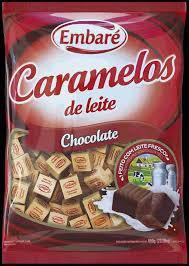 Bala de Caramelo Chocolate 660g Embaré