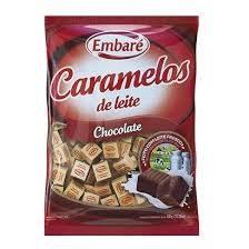 Bala Caramelo Chocolate 150g Embaré