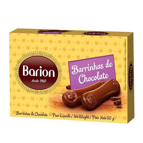 Barrinhas de Chocolate ao leite 50g - Barion