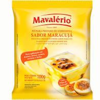 Pó para Preparo de Sobremesas sabor Maracujá 100g Mavalério