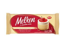 Chocolate em Barra Branco Melken  1,050Kg Harald