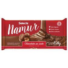 Chocolate Ao Leite Namur Selecta 1,01kg