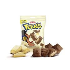 Biscoito Teens Snack Chocolate Branco dp 8x30g Marilan