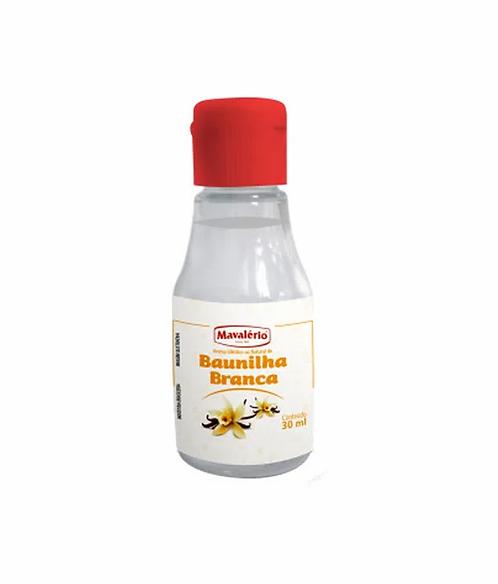 Aroma Idêntico ao Natural De Baunilha Branca  30ml - Mavalério