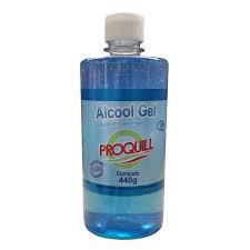 Alcool Gel Antisséptico Proquill c/440g (500ml) Refil