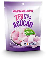 Marshmallow Zero% Açúcar 70g Florestal