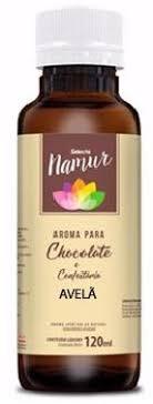 Aroma para Chocolate e Confeitaria Avelã 120 ml Selecta Namur Mix