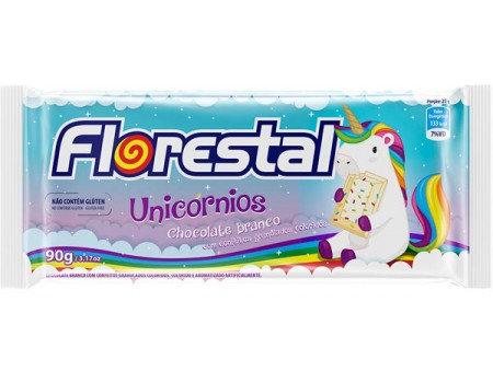 Tablete de Chocolate Unicórnios Florestal 90g